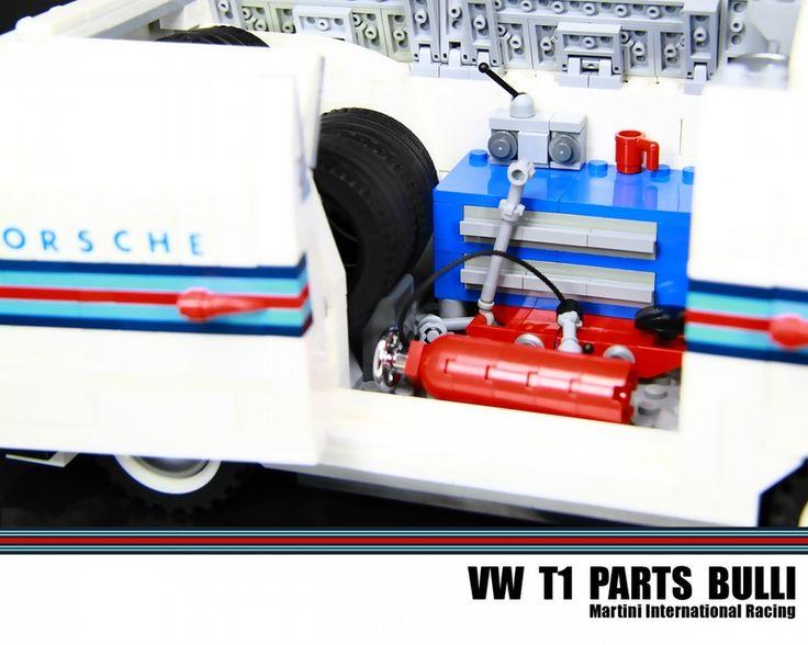 VW T1 Parts Bulli - Martini International Racing