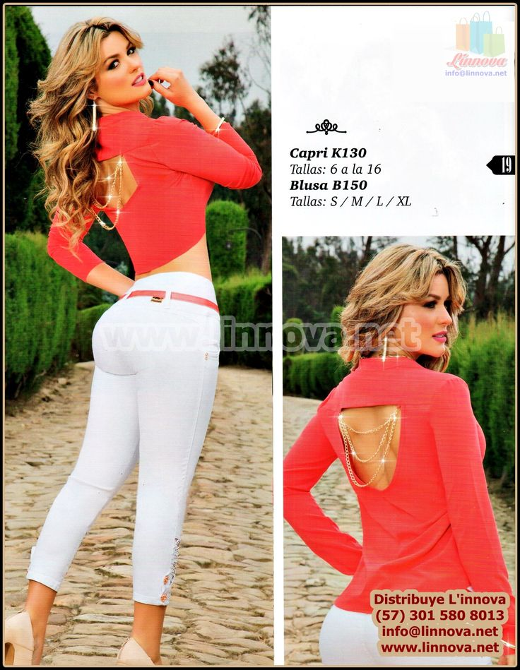 150605 - Ropa Casual para Dama / Jeans
