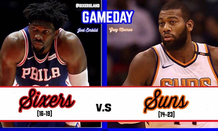 ITS GAMEDAY!!! The #Sixers look to win back to back games as they take on the #Suns in The Talking Stick Resort Arena. Expect alot from Devin Booker because he is the face of the franchise and boy can he play. I think that we should win and im confident that we are a better basketball team than the suns.  #ttp