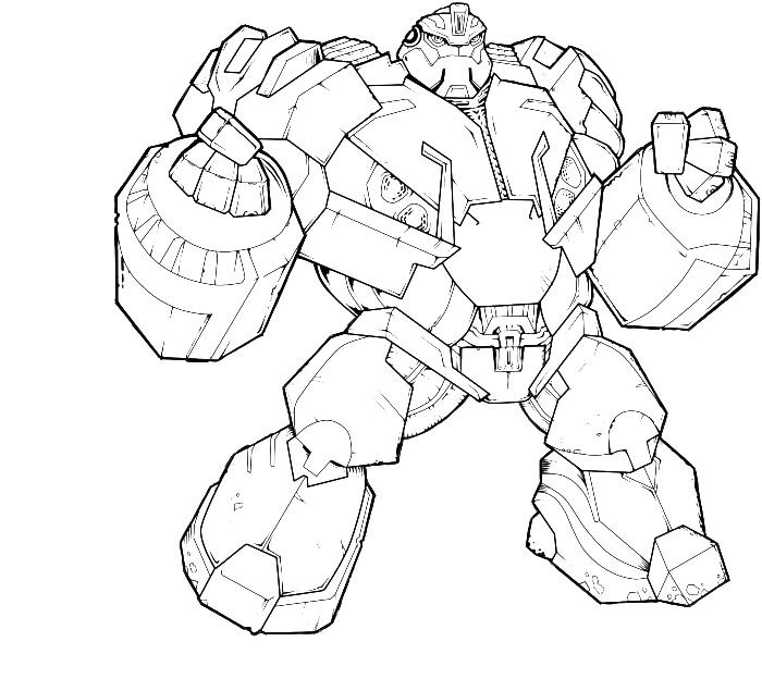 Transformers Robots In Disguise Coloring Pages