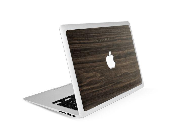 LastuSkin for Macbook Pro/Air - Puinen kuori suoja - Walnut / Pähkinä