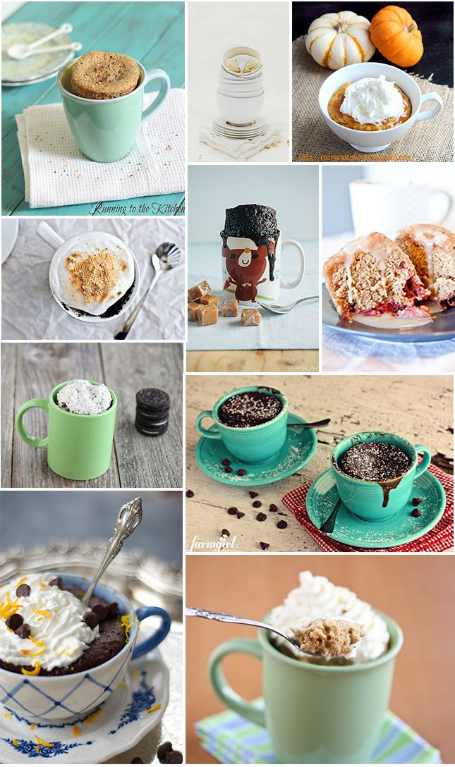 The best 5 minute mug cakes--They really are! The Grand Marnier Molten Chocolate cake is amaaazzing!