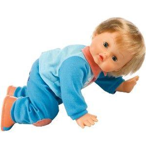 #Location poupée Cicciobello - Lorsque la petite fille tape des mains, il rampe à quatre pattes, ou il marche en faisant de drôles et tendres gazouillis ! Il a une amusante tétine en forme de lapin. Fille - A partir de 3 ans. Location poupée enfant Ciciobello à Albias (82350) _ www.placedelaloc.com/location/sport-loisirs #consocollab #ciciobello