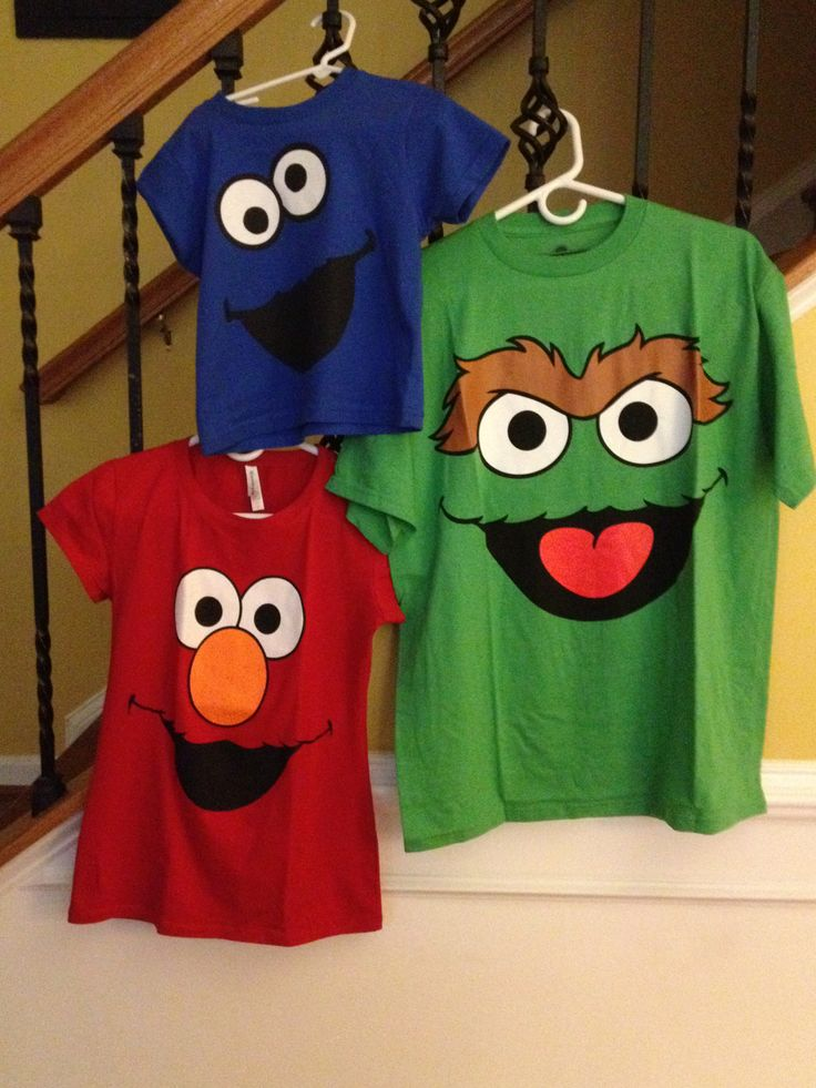 Sesame Street shirts for the whole family
