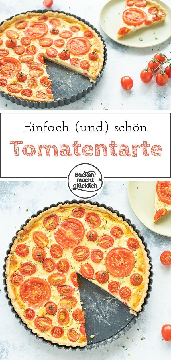 Tomaten-Quiche – Backen macht glücklich