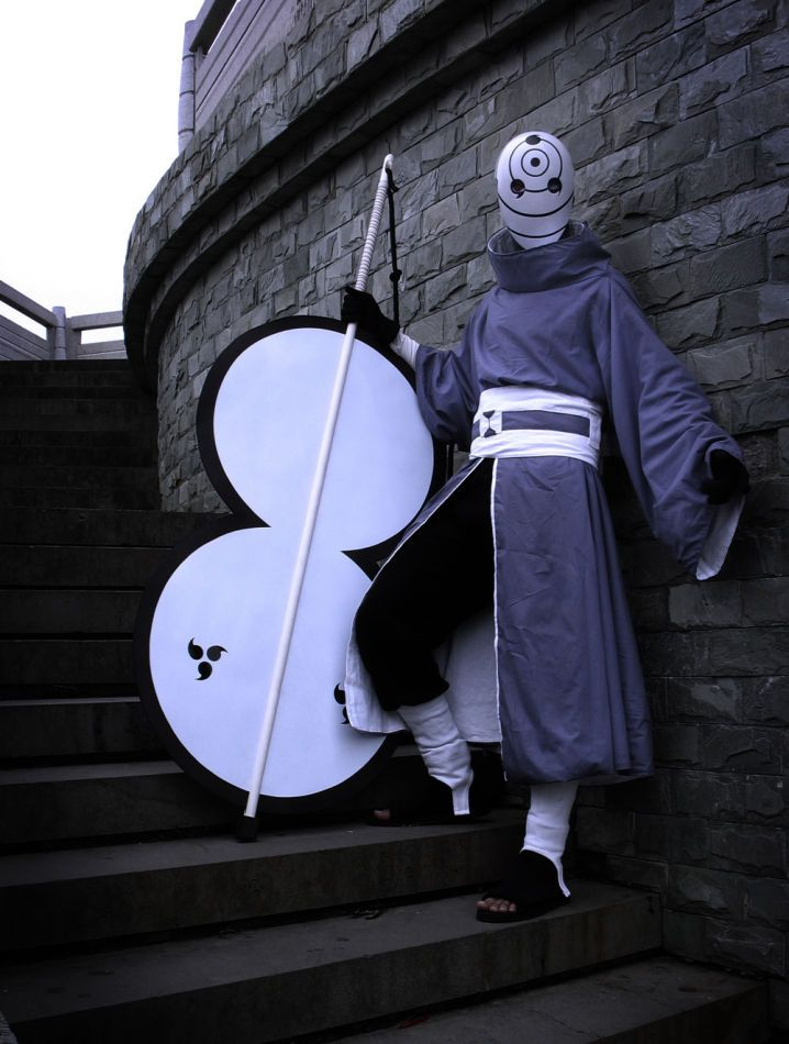 #Naruto #MomochiZabuza Cosplay! Cool Mask!!!