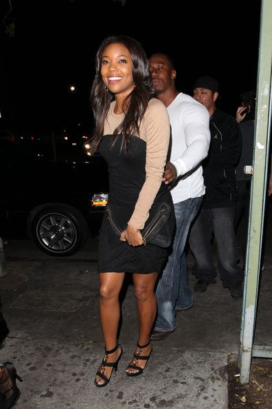 Gabrielle Union Photos Photos - Actress Gabrielle Union rocks up to Eden nightclub in Hollywood for a night out with friends. - Gabrielle Union at Eden Nightclub in Hollywood