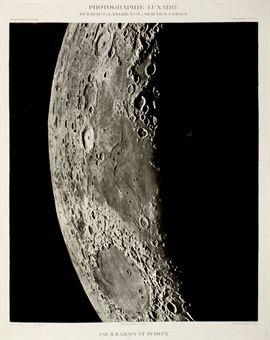 LOEWY, Maurice & Pierre Henri PUISEUX.  Atlas photographique de la lune ...