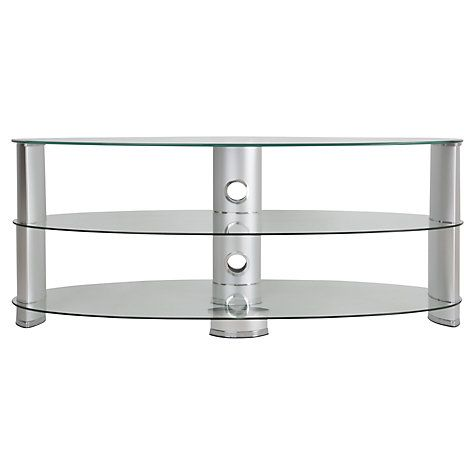 """Buy John Lewis 1200 Oval TV Stand for TVs up to 60"""" Online at johnlewis.com"""