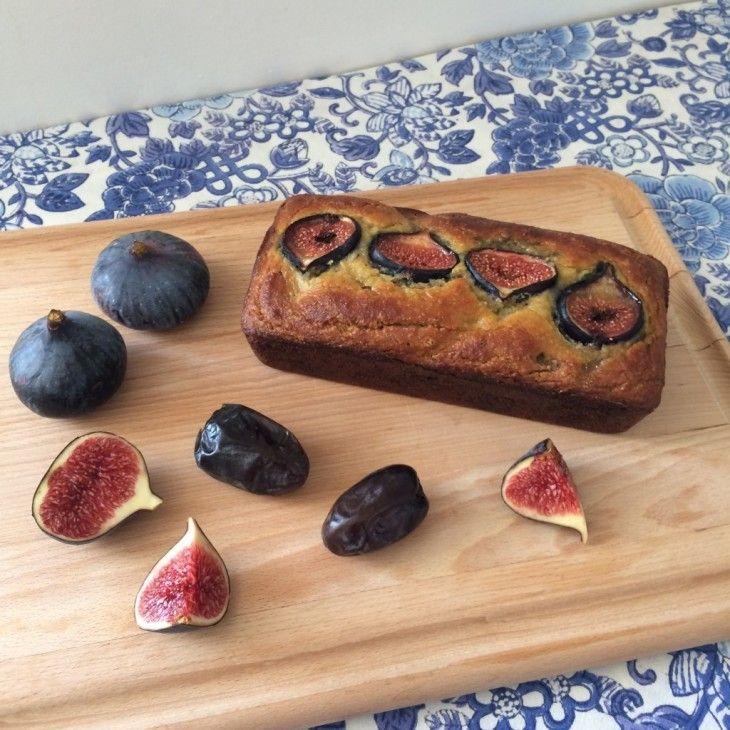 recette sans gluten de pain amande, dates et figues