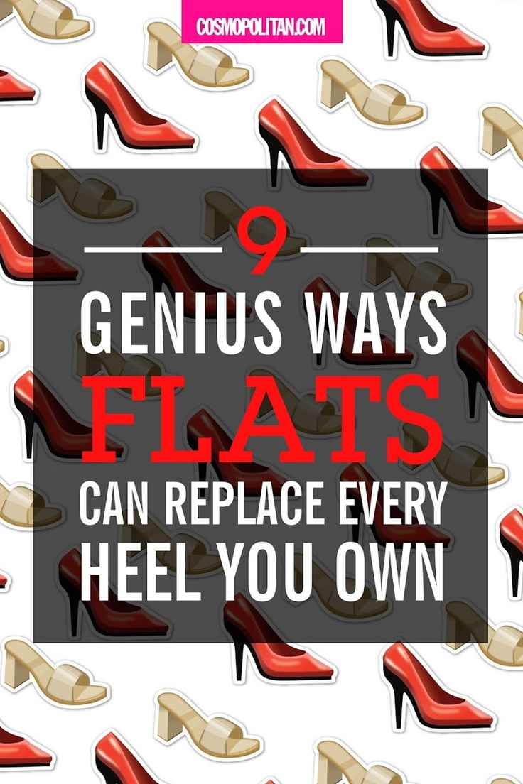 9 Genius Ways Flats Can Replace Every Heel You Own High