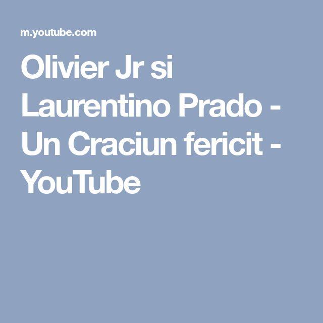 Olivier Jr si Laurentino Prado - Un Craciun fericit - YouTube