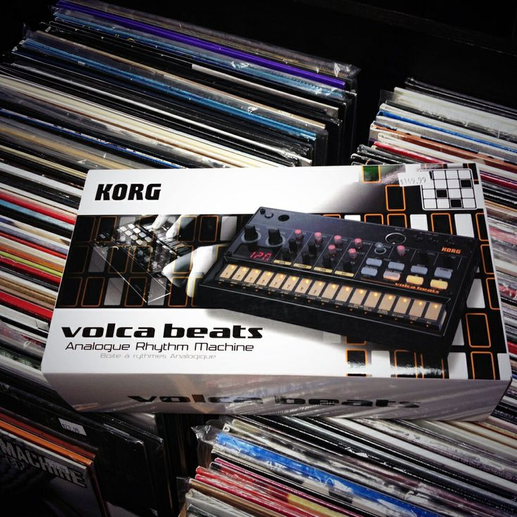 Korg Volca Beats back in stock. Analog drum machine amazingness for only $149.99!