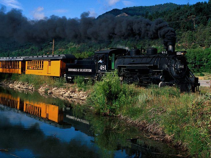 Durango to Silverton Train Ride...Yep, can't wait until this summer!! So beautiful!!