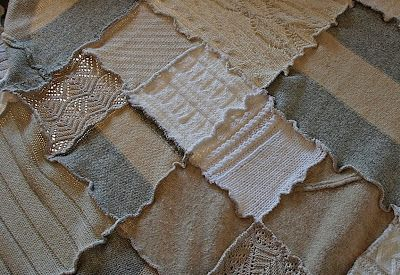 freshly found: Jersey Patch Blanket