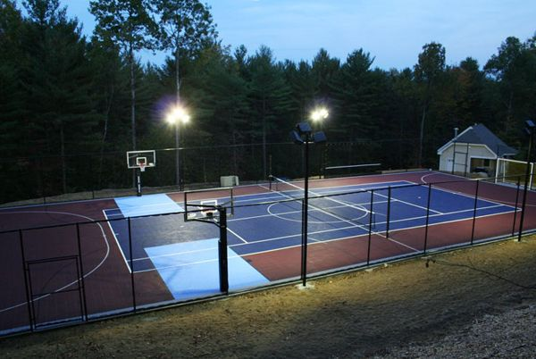 17 best images about sport court on pinterest for How to build a sport court