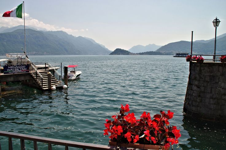 Looking out over Lake Como at Menaggio