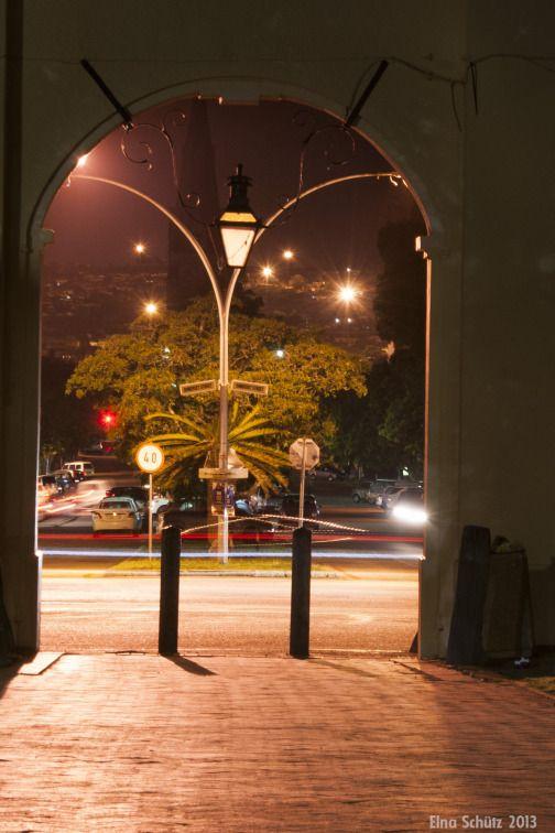 Grahamstown lights, SA copyright Elna Schütz #photography