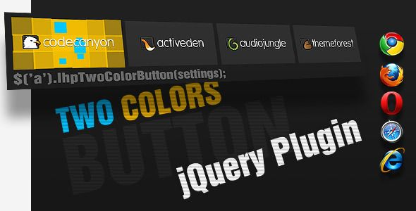 cool jQuery Animated Button & Menu