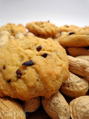 Keksz Blog: Mogyoróvajas-kakaóbabos keksz