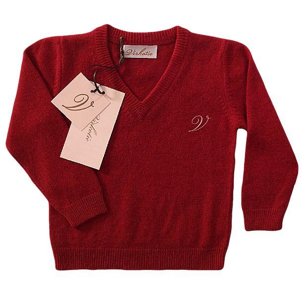 Virkotie CHERRY Cashmere Sweater www.virkotie.com