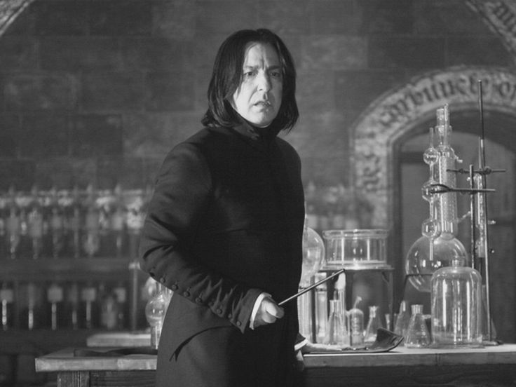 """ron-weasleby:  """"""""It would be wonderful to think that the future is unknown and sort of surprising.""""  -Alan Rickman (21 February 1946 - 14 January 2016)  Happy Birthday to Alan Rickman, one of the best British actors, known to us Potterheads best as..."""