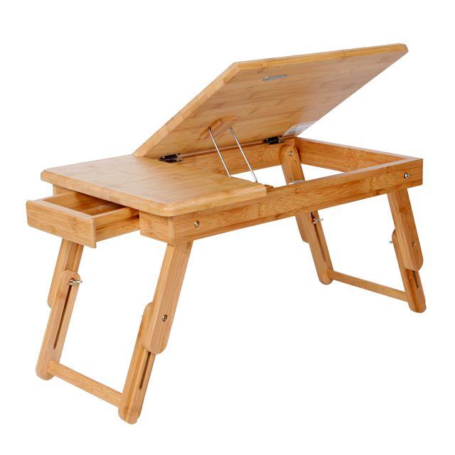 Столик для завтрака бамбуковый трансформер 50х30х30см Q05100011/13