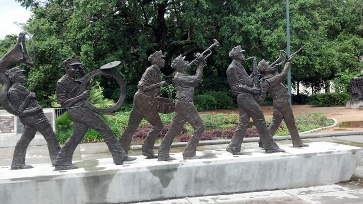 The Louis Armstrong Park in New Orleans #neworleans #louisiana