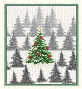 Christmas Tree Cross Stitch Patterns | keywords christmas more designs by marv schier christmas tree farm 99 ...