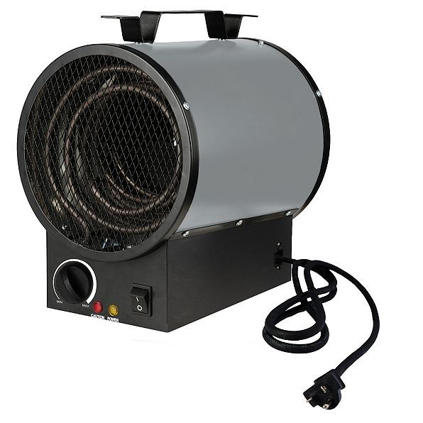 The Portable Shop Heater offers back-up heating at an affordable price.  This portable backup heater has a 6' cord for mobility.