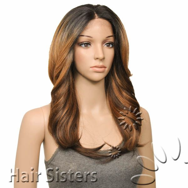freetress equal synthetic lace front wig 3 way lace part ...