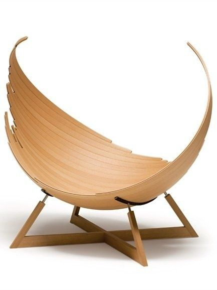 STUNING WOODEN CHAIR BY CONDE HOUSE EUROPE Wooden chair BARCA by Conde House Europe, design by Jacob Joergensen, wood by ErayT | www.bocadolobo.com/ #modernchairs  #chairideas