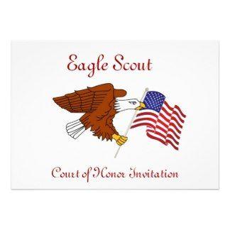 Eagle Scout Invitation Template | 127 Best Eagle Scout Invites Images On Pinterest Eagles Badges