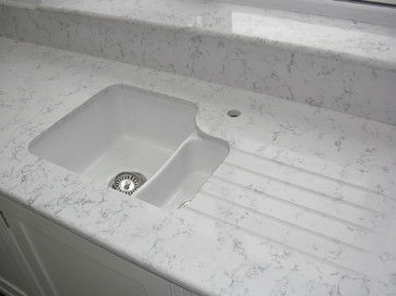 Lyra quartz worktops silestone undermount sink for Silestone sink