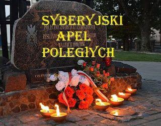 Związek Sybiraków Koło Terenowe w Lubaczowie: Syberyjski Apel Poległych