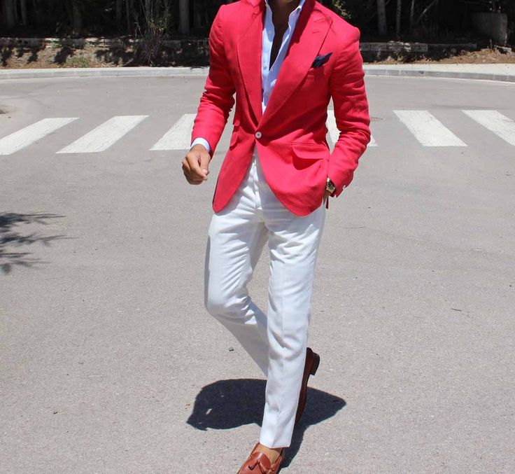 A really nice red jacket.