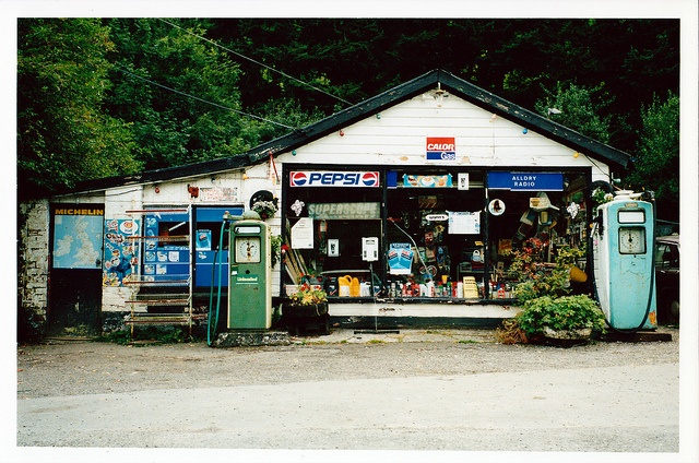 Petrol Station by Documentally, via Flickr