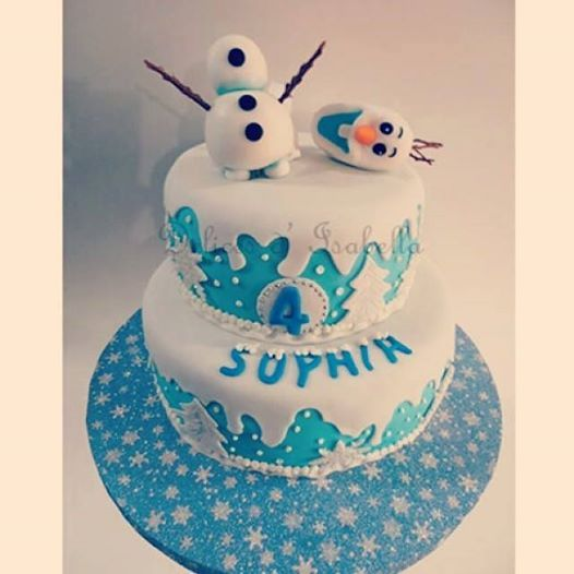 Tortas on Pinterest | Disney Frozen Cake, Olaf and Frozen Cake