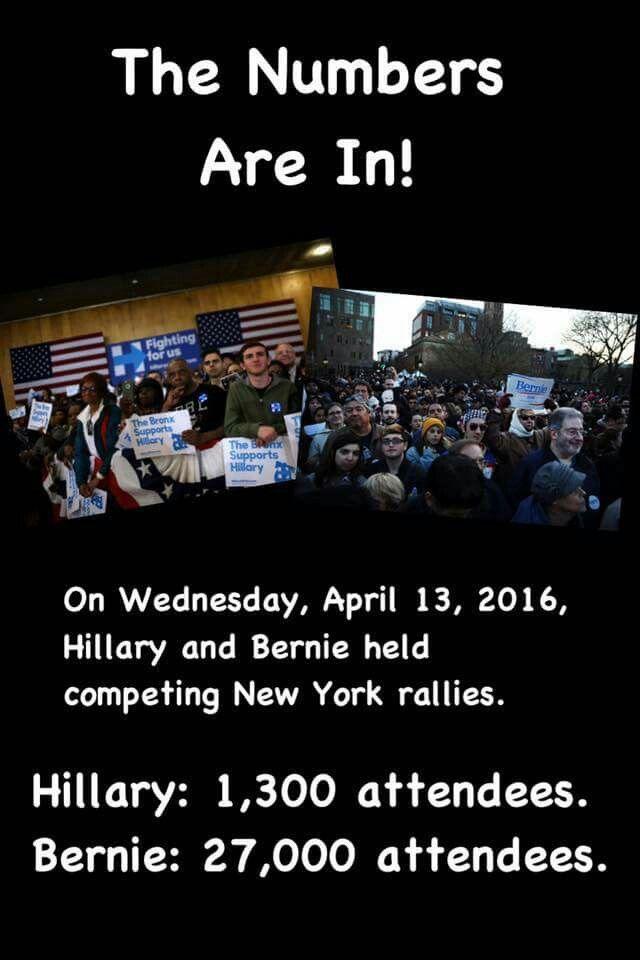 #NYForBernie #BernieOrBust #StillSanders #FuelTheBern.