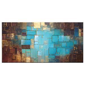 Bekijk de foto van Kunstvoorjou.nl met als titel Schilderij 'Atlantis Gold' door Buttner. Dit abstracte kunstwerk is geschilderd met acrylverf op canvas en opgespannen op een houten frame. De gouden omrandingen zijn dik opgezet waardoor het schilderij iets 3D achtigs krijgt. Het heeft een formaat van 120 x 60 cm. Bezoek voor meer informatie over dit schilderij onze webwinkel Kunstvoorjou.nl via de bron hierboven. en andere inspirerende plaatjes op Welke.nl.