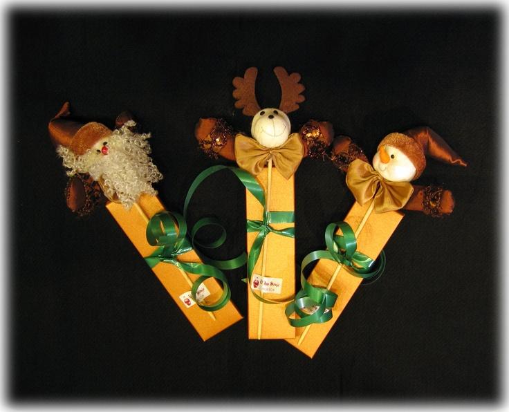 ESPECIAL NAVIDAD: chocolatinas con adorno
