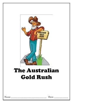 Great unit to teach students about the Gold Rush in Australia. Activities include locating where gold was found on a map, timeline, Eureka Stockade flag, cultures that came to Australia during the Gold Rush and more. Can be used as a casual teaching resource, or as a unit of work.