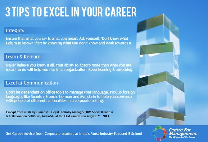 Simple 3 tips to excel in your career, as shared by Himanshu Goyal, Country Manager, IBM Social Business & Collaboration Solutions, India/SA