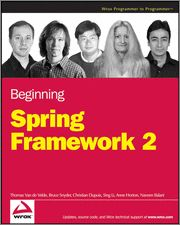 The #Spring #Framework is designed from the ground up to make it easier than ever to #develop #server-side #applications with #Java #Enterprise Edition. With this book as your guide, you'll quickly learn how to use the latest features of #Spring2 and other open-source tools that can be downloaded for free on the web. With each subsequent chapter, you'll explore an area of Spring application design and development as you walk through the steps involved in building a production-scale example.
