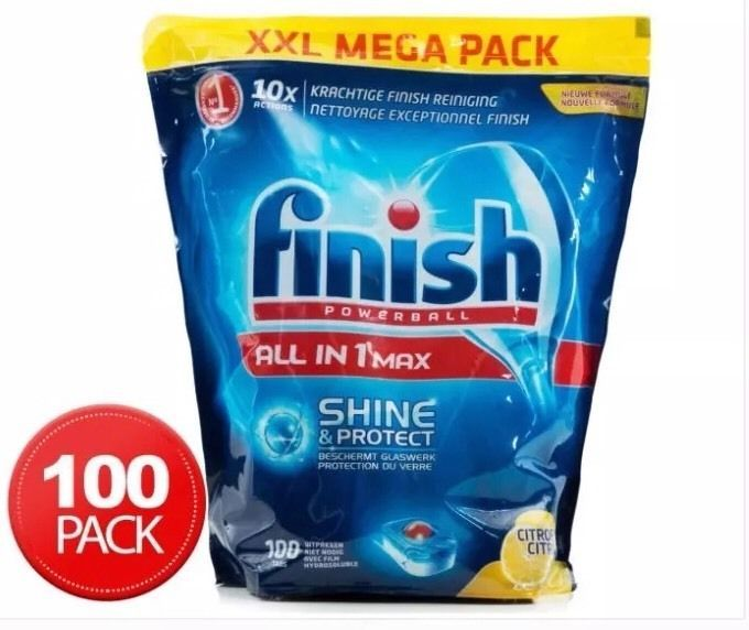 Finish Powerball All-In-One Tablets Megapack Lemon 100pk Don t Pay $58.00