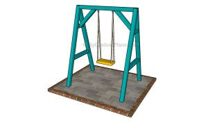 Outdoor Swing Plans | Free Outdoor Plans - DIY Shed, Wooden Playhouse, Bbq, Woodworking Projects