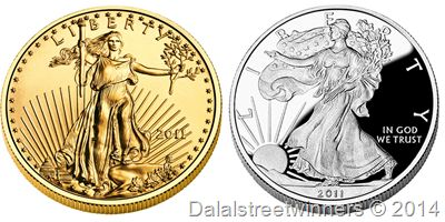 Gold, Silver Bullion Coin Sales Robust Despite Sell Off | Dalal street winners