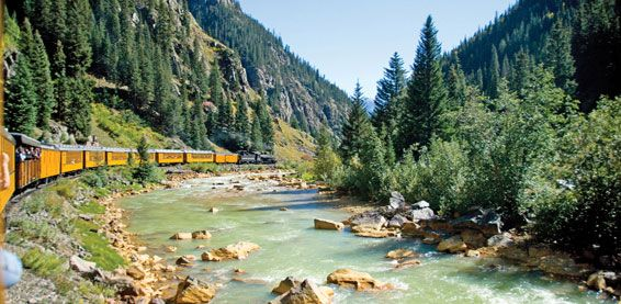 Colorado Rockies Tours | Rocky Mountain National Park Tour | Trains of the Colorado Rockies | Collette Vacations