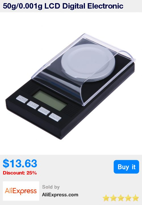 50g/0.001g LCD Digital Electronic Scale Lab Weight Milligram High Precision Measuring Weight Tools Medical Scale  * Pub Date: 10:27 Jun 24 2017