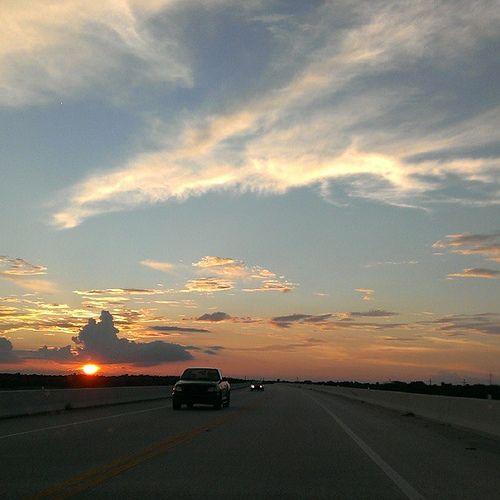 DashCam Sunset #instasunset #instaflorida #htcevo4glte #HTC #dashcam #flstofmind #Florida #highwaysong #instagram #sunsetlovers